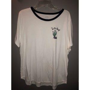 Cactus pun t-shirt